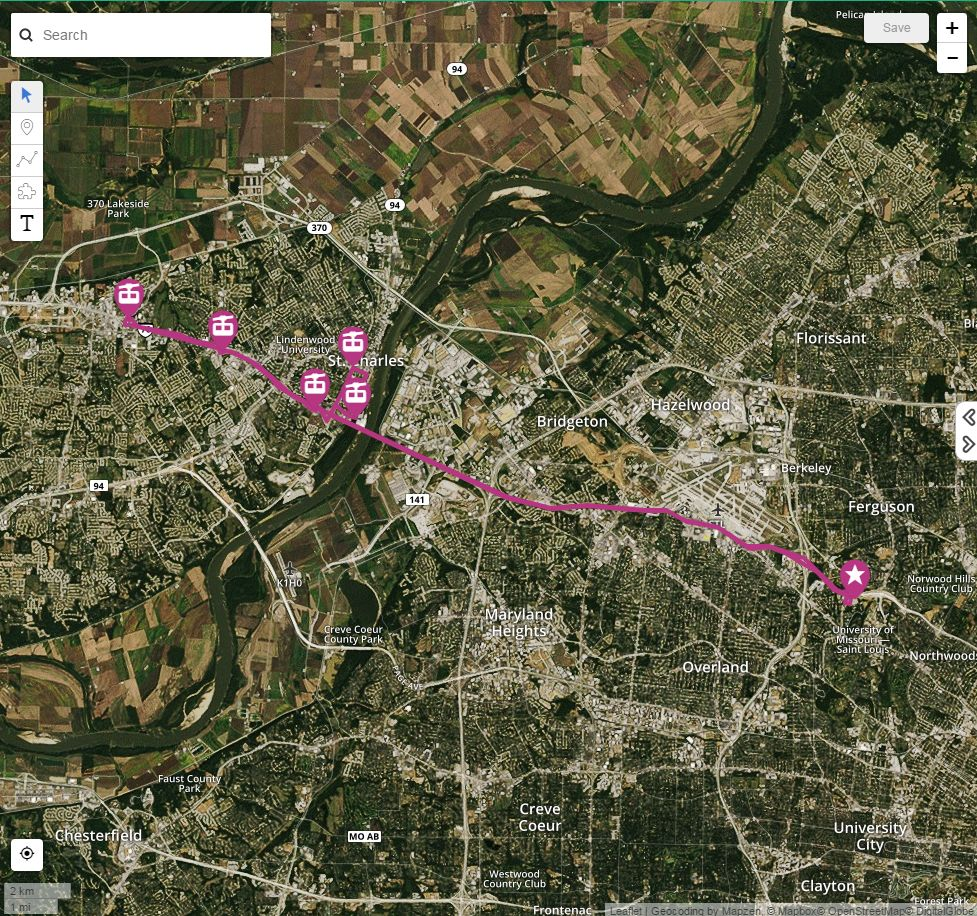 Park and ride | St. Charles, MO - Official Website I Missouri Road Map on i-40 road map, interstate 40 mile marker map, mo i 70 map, interstate 70 mile marker map, i-70 missouri traffic,