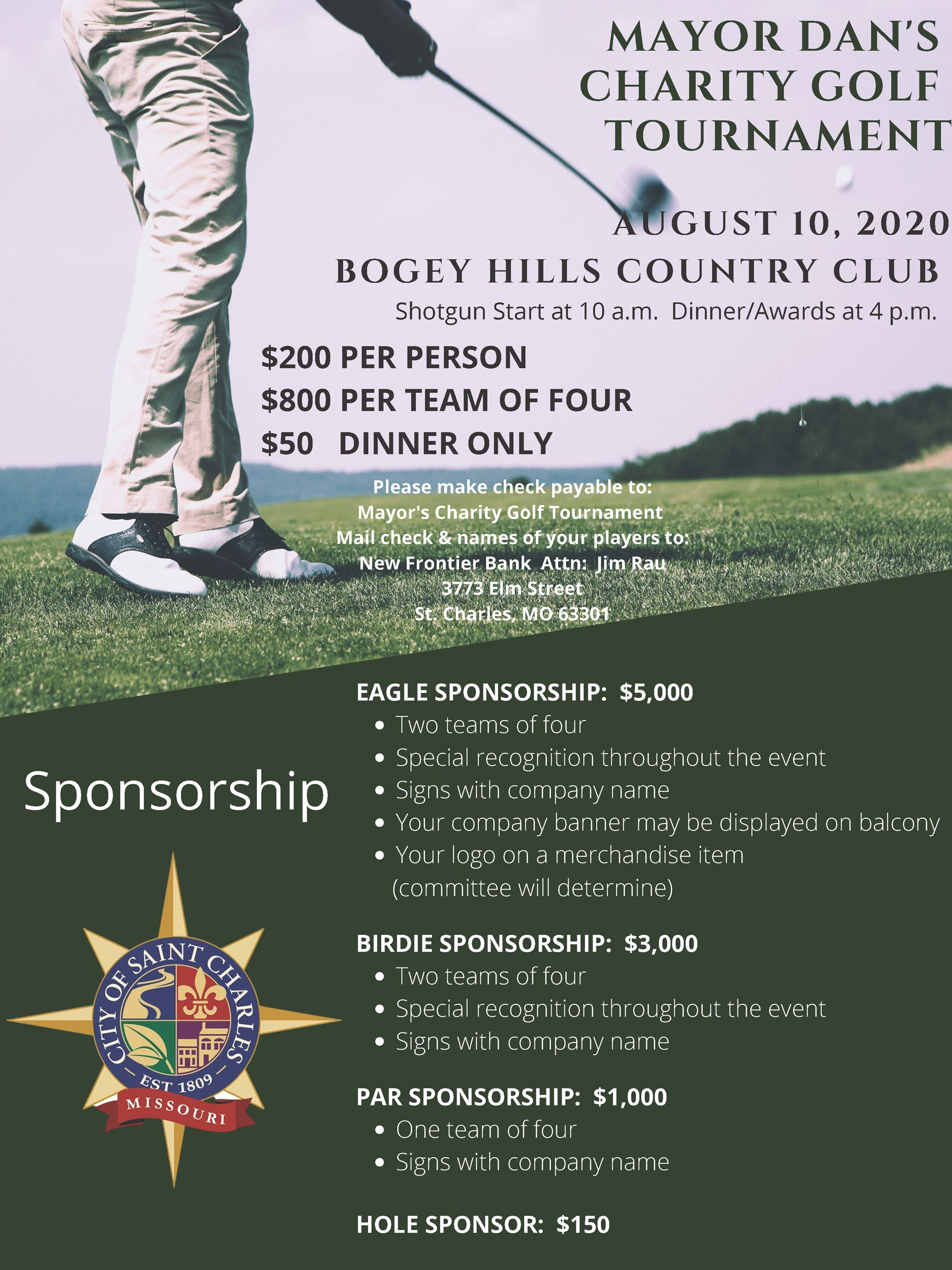mayors golf tournament 2020 revised