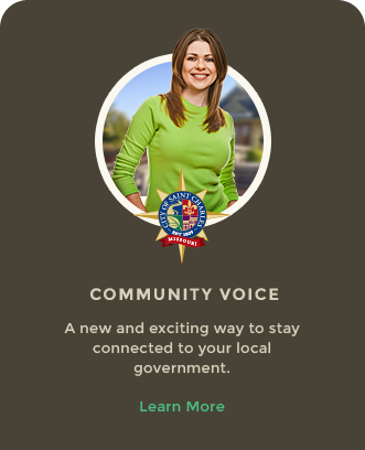 Community Voice - A new and exciting way to stay connected to your local government. - Learn More