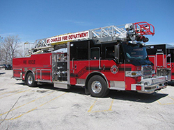 Advanced Life Support Ladder Truck 9432